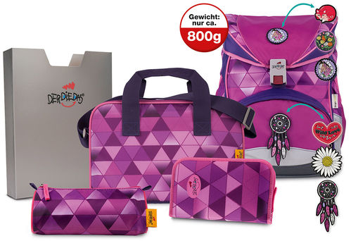 Set Girls 5teilig exclusiv ErgoFlex