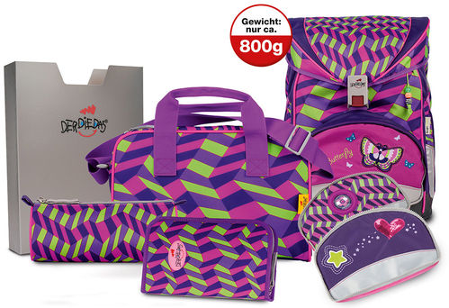 Set Girl Gang/Butterfly 7teilig exclusiv  ErgoFlex