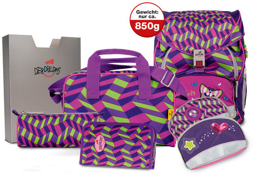 Set Girl Gang/Butterfly 7teilig exclusiv    ErgoFlex XL
