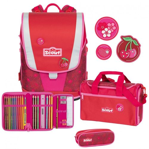 Set Cherry Red 4teilig